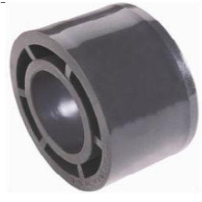 Rövid szűkítő D90 mm X 75 PVC