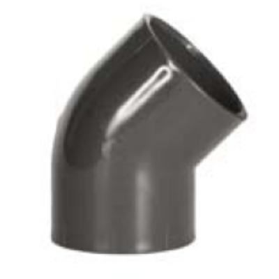 Könyökidom 45°  D63 mm PVC